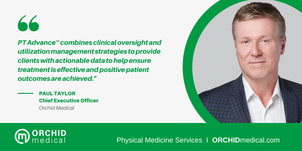 Quote from CEO of Orchid Medical on PT Advance